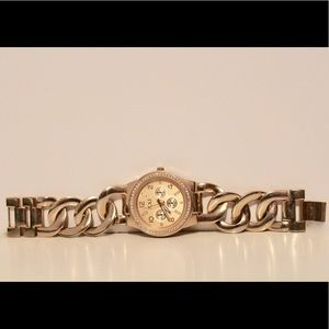 Gold stainless steal Forever 21 watch